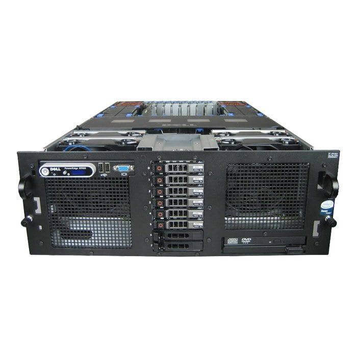 Dell PowerEdge R900 Rack Server | Hardware as a Server (HaaS) | Server Solutions | Loyal IT Technology Solutions